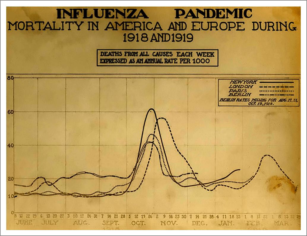 1918 Flu Chart